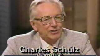Charles Schulz on Good Morning America 1987