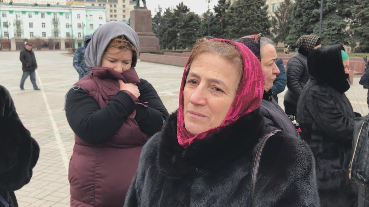 Матери похищенных дагестанцев не попали на прием к Бастрыкину