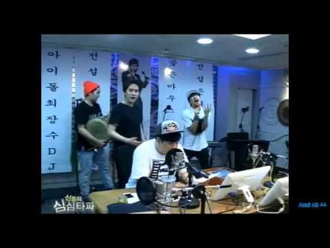 140703 Suju Kyuhyun, Eunhyuk  dance and sing