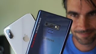Apple iPhone XS Max vs Samsung Galaxy Note 9 | review comparativa en español