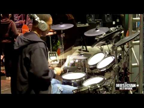 W NAMM 2010 - ROLAND V-DRUMS **&** THE NATURAL