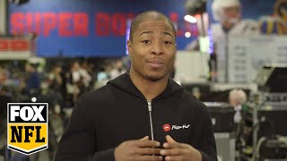 Seahawks WR Tyler Lockett says Russell Wilson is 'a big brother to me' | FOX NFL