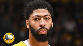 Anthony Davis has turned down the Lakers' max contract offer | The Jump