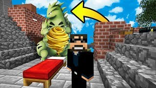 CAN I BE A BETTER TYRANITAR THAN MY WIFE?! (NEW Minecraft Pokemon BedWars)