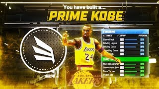 PRIME KOBE BRYANT BLACK MAMBA BUILD ON NBA 2K20! 4 TAKEOVER BADGES UNLOCKED!