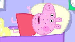 Peppa Pig Français   Peppa est malade!   Dessin Animé Pour Enfant