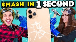 Try To Smash In One Second Challenge | React