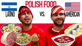 American and Latino rating Polish food - blindfolded.
