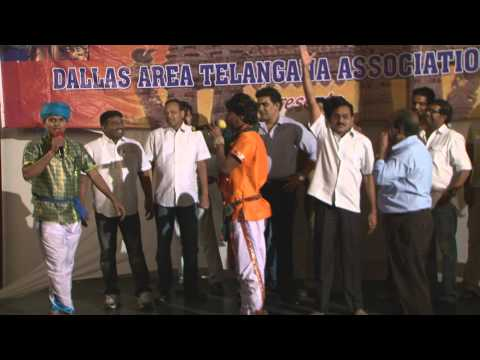 Part 16 : Rela Re Ravi,Sivanagulu and Janardhan singing Folk songs at DATA Celebrations