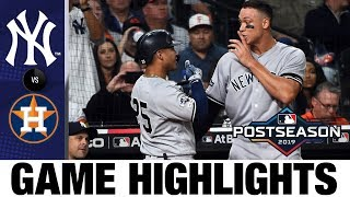 Gleyber Torres' historic game leads Yanks to win | Yankees-Astros Game Highlights