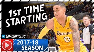Kyle Kuzma Full Highlights vs Nets (2017.11.03) - 21 Pts, 13 Reb