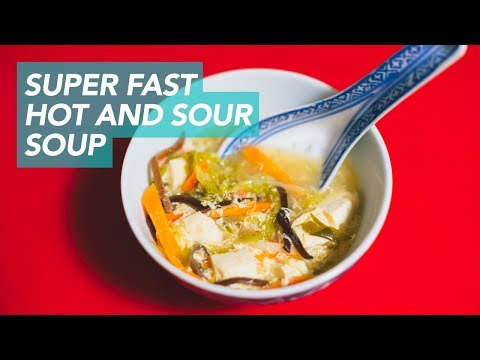 Hot and Sour Soup 酸辣汤 in 30 Minutes - Instant Pot