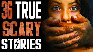 36 True Creepy Horror Stories | The Lets Read Podcast Episode 008