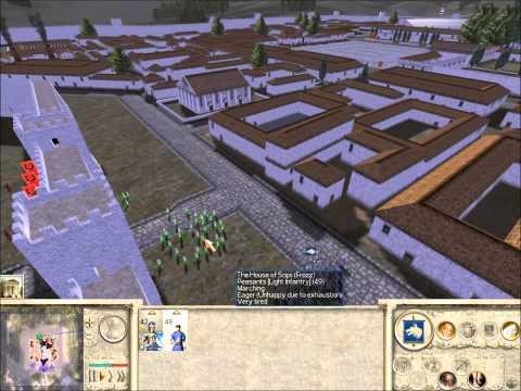 Rome Total War Online Battle #1977: 2 vs 1 Siege Battle (live-commentary)