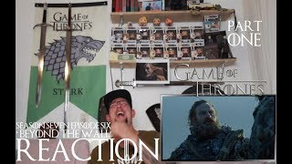 Game of Thrones season 7 episode 6 'Beyond the Wall' REACTION part 1