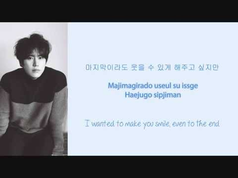 Kyuhyun - 조용히 안녕 (Last Good-bye) Lyrics (Hangul/Romanization/English)