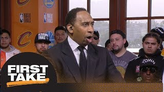 Stephen A.: Only way Cavaliers can win NBA Finals is by hitting perimeter shots | First Take | ESPN