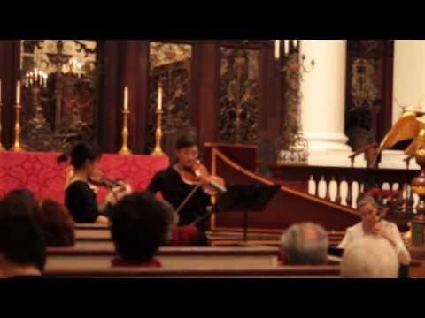 CPE Bach Trio Sonata, 2nd mvt.