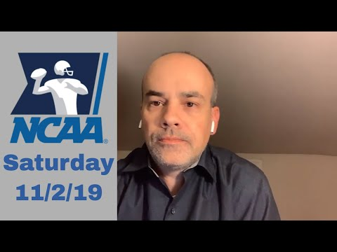 Houston at UCF and SMU at Memphis - College Football Prediction - Saturday 11/2/19 - Bookie Blasters