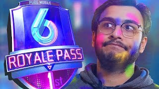 PUBG MOBILE LIVE: ROYAL PASS SEASON 6 RP100 | HAPPY HOLI | NEW UPDATE | RAWKNEE