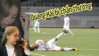 Quang Hải bị chấn thương Nhật Lê trước trận đấu có động thái bất ngờ