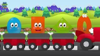 Fun Shapes Song Compilation | KidsSongsClub