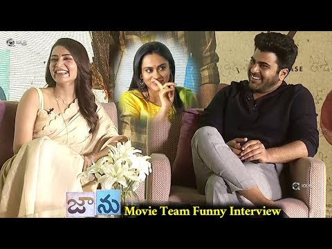Jaanu-Team-Funny-Interview