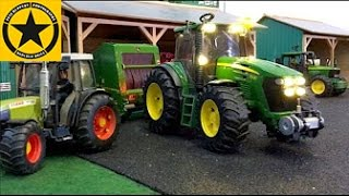 BRUDER Toys TRACTORS for Children FARM WORLD all machinery in! LONG PLAY
