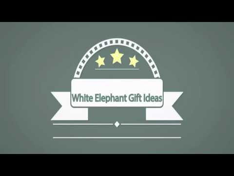 Where to get white elephant gift ideas from