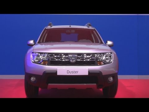 Dacia Duster Urban Explorer TCe 125 4x4 Start&Stop Grey Platine (2016) Exterior and Interior in 3D