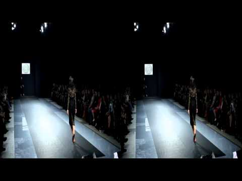 Elena Amosova Moskow Fashion Week 2011 3D