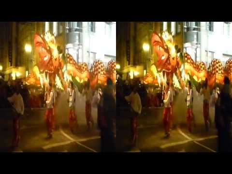 Gum Lung Dragon @ 2014 Chinese New Year Parade (YT3D:Enable=True)