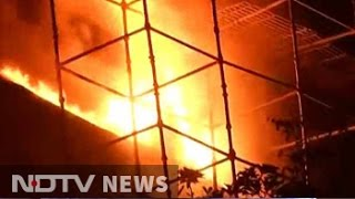 Fire destroys Natural History Museum in Delhi..