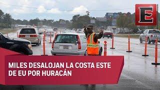 La costa este se prepara ante el impacto del huracán