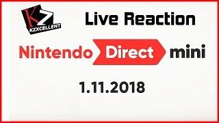 KZ Live Reaction - Nintendo Direct Mini (Jan. 2018)