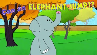Zoo Animals Song for Kids - Can An Elephant Jump? - ELF Learning