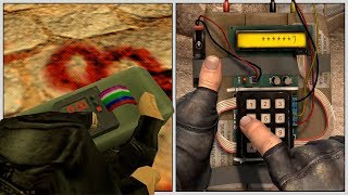 Evolution of Planting the Bomb in Counter-Strike (1999-2018)