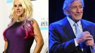 "Christina Aguilera ""Steppin' Out With My Baby"" Duet with Tony Bennett Debuts"