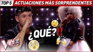 Las Audiciones a Ciegas MÁS SORPRENDENTES de La Voz