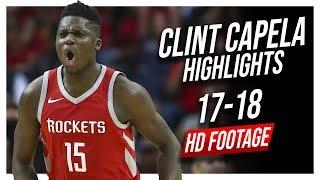 Rockets C Clint Capela 2017-2018 Season Highlights ᴴᴰ