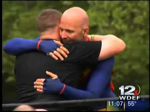 WDEF News 12 - Mathew Pizzuto - Recent Amputee Taking on the Superhero Scramble