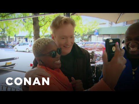 Conan Meets His Harlem Neighbors  - CONAN on TBS
