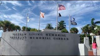 PHÓNG SỰ CỘNG ĐỒNG: Ghé thăm Vietnam Veteran Memorial Garden tại Key West, Florida