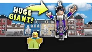 *INSANE* BIGGEST GIANT ON ROBLOX SIMULATOR GAME | God Simulator 3