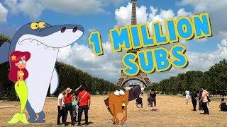 Zig & Sharko 🌴 1 MILLION SUBSCRIBERS ⭐ #THANKS