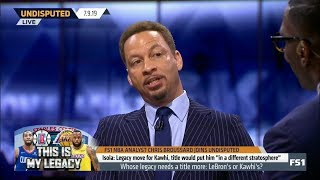 UNDISPUTED | Chris Broussard: If Kawhi's Clippers win title, he will be