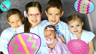 🎉EASTER with 5 Kids👫👶🏻👫