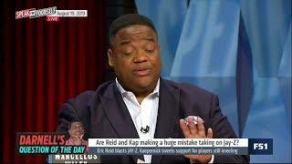 SPEAK for YOURSELF | Eric Reid blasts Jay-Z, Kaepernick tweets support for players still kneeling