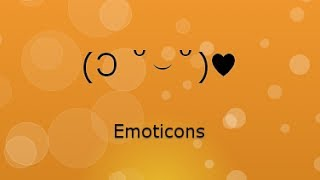 Facebook Emoticons & Twitter Emoticons ابتسامات، سمايلات، مشاعر فيسبوك و تويتر