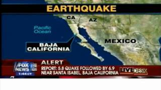 earthquake in diego